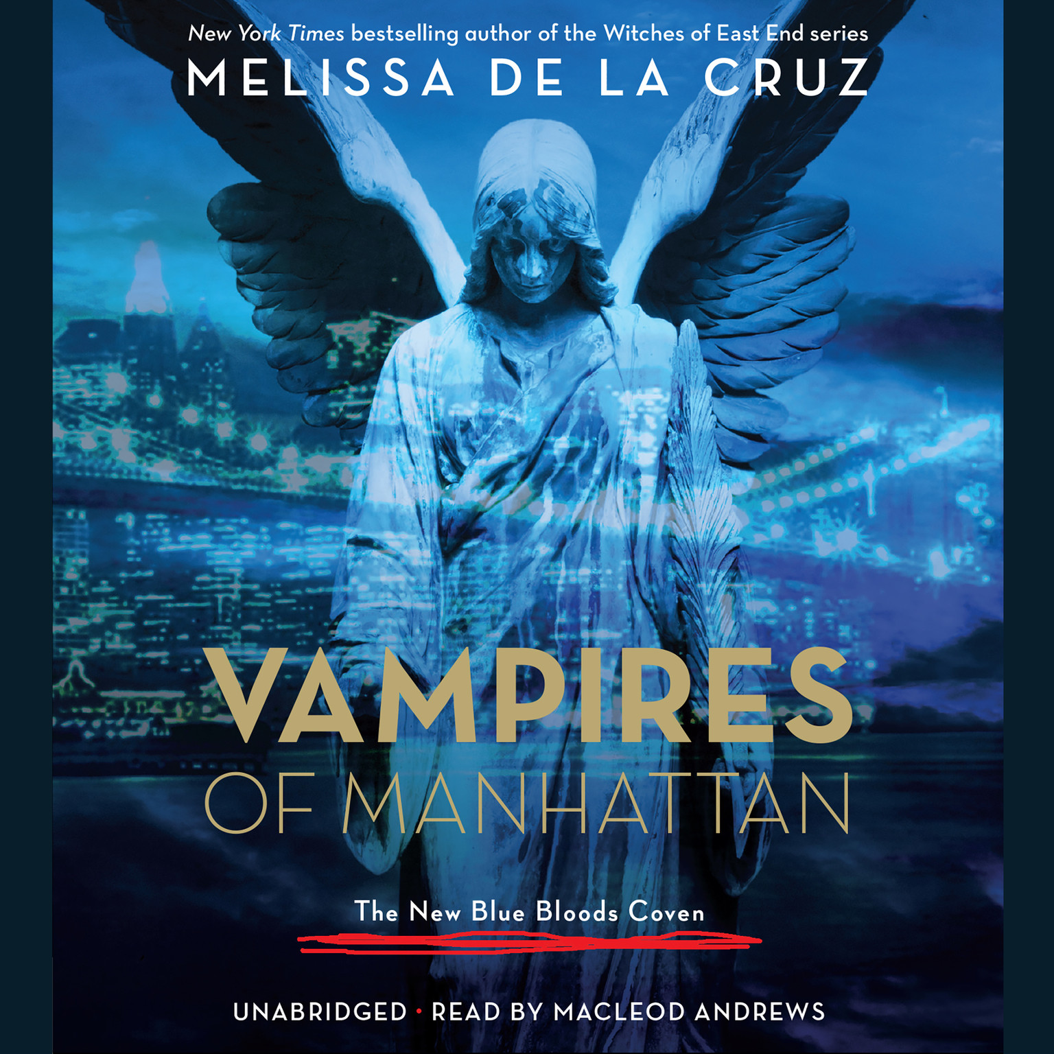 Printable Vampires of Manhattan: The New Blue Bloods Coven Audiobook Cover Art