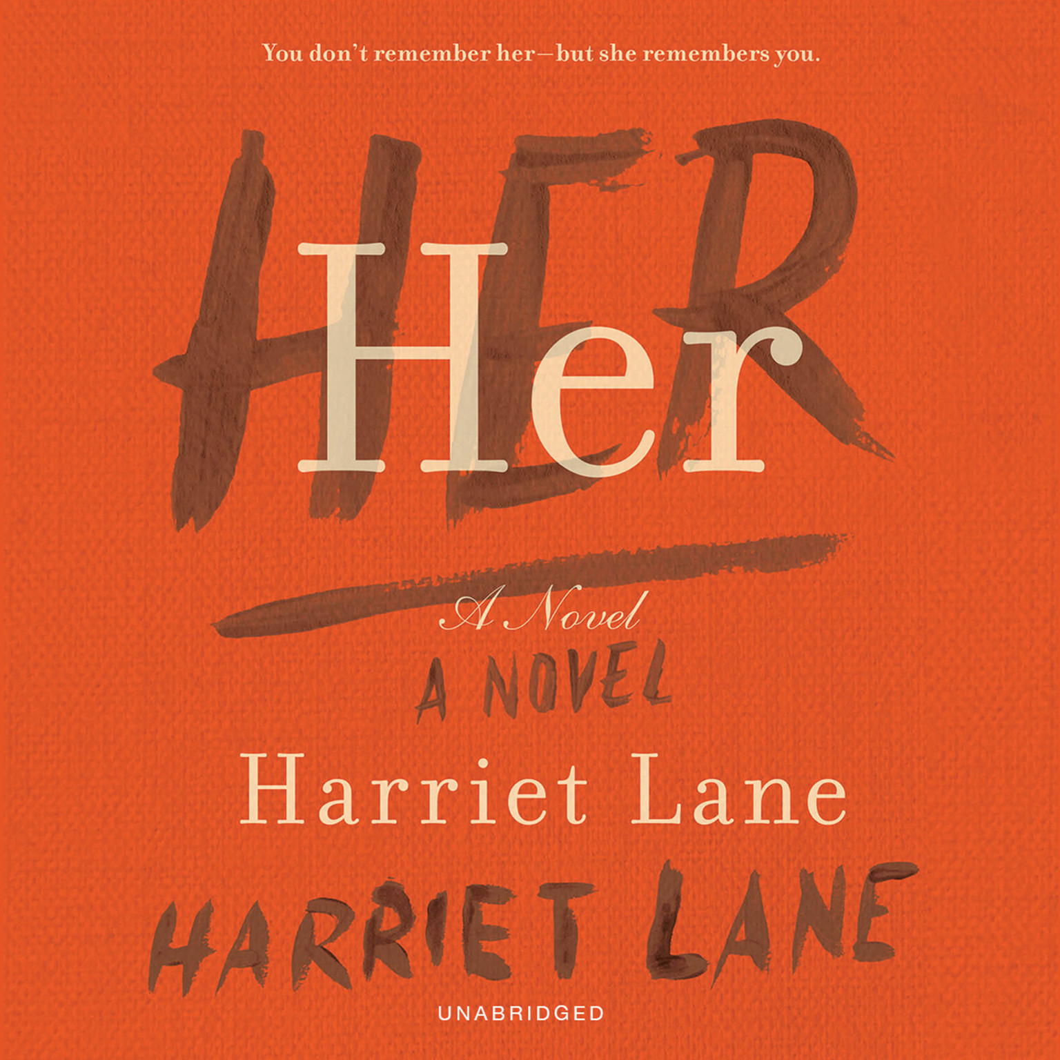 Printable Her: A Novel Audiobook Cover Art