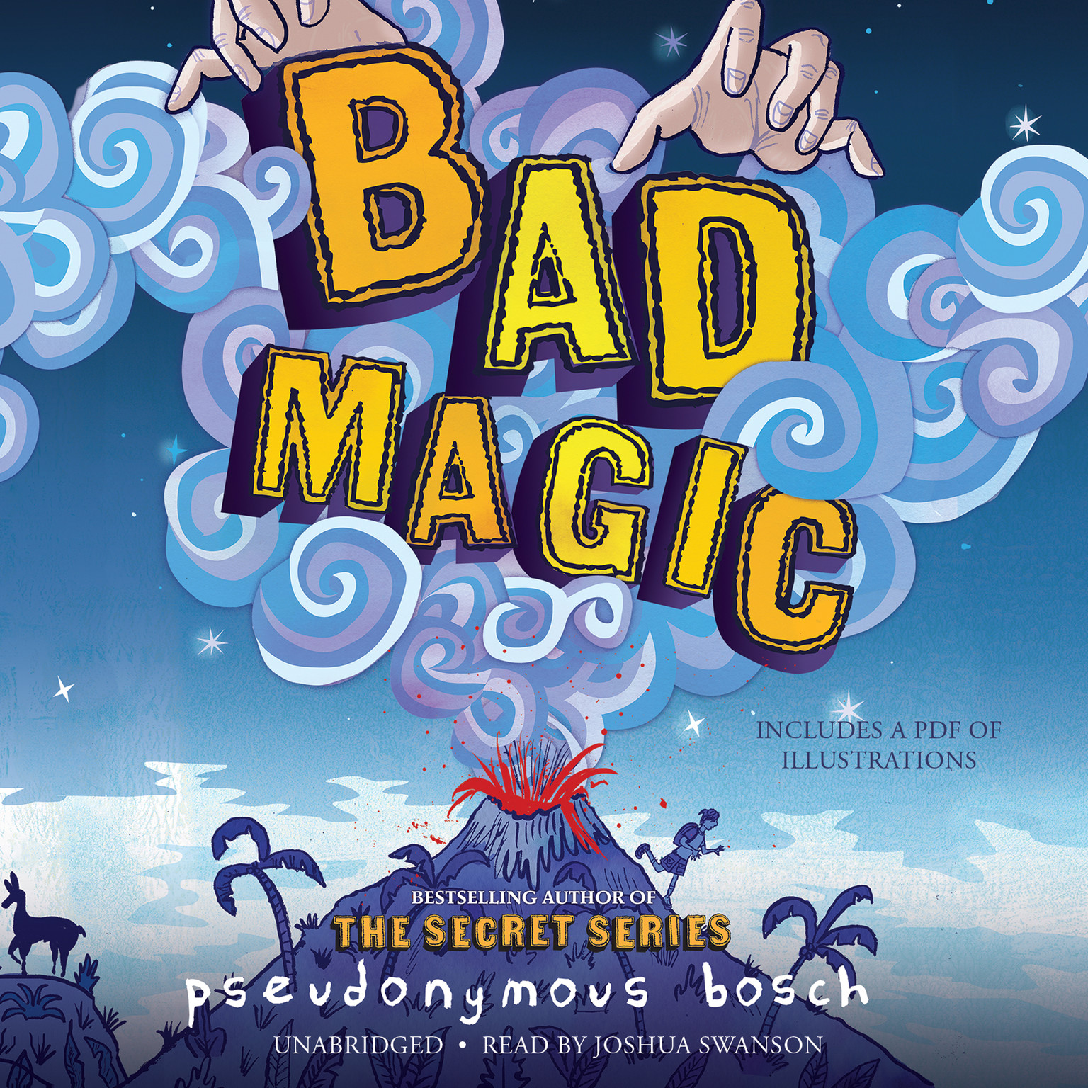Printable Bad Magic Audiobook Cover Art