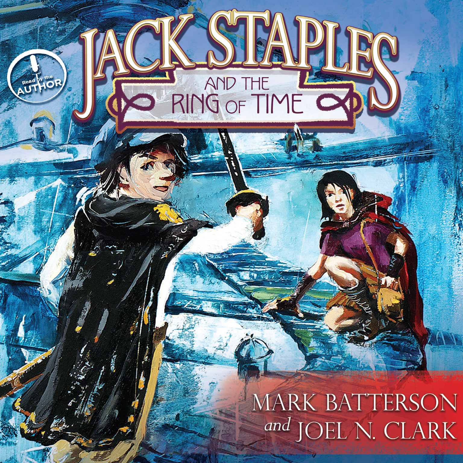 Printable Jack Staples and the Ring of Time Audiobook Cover Art