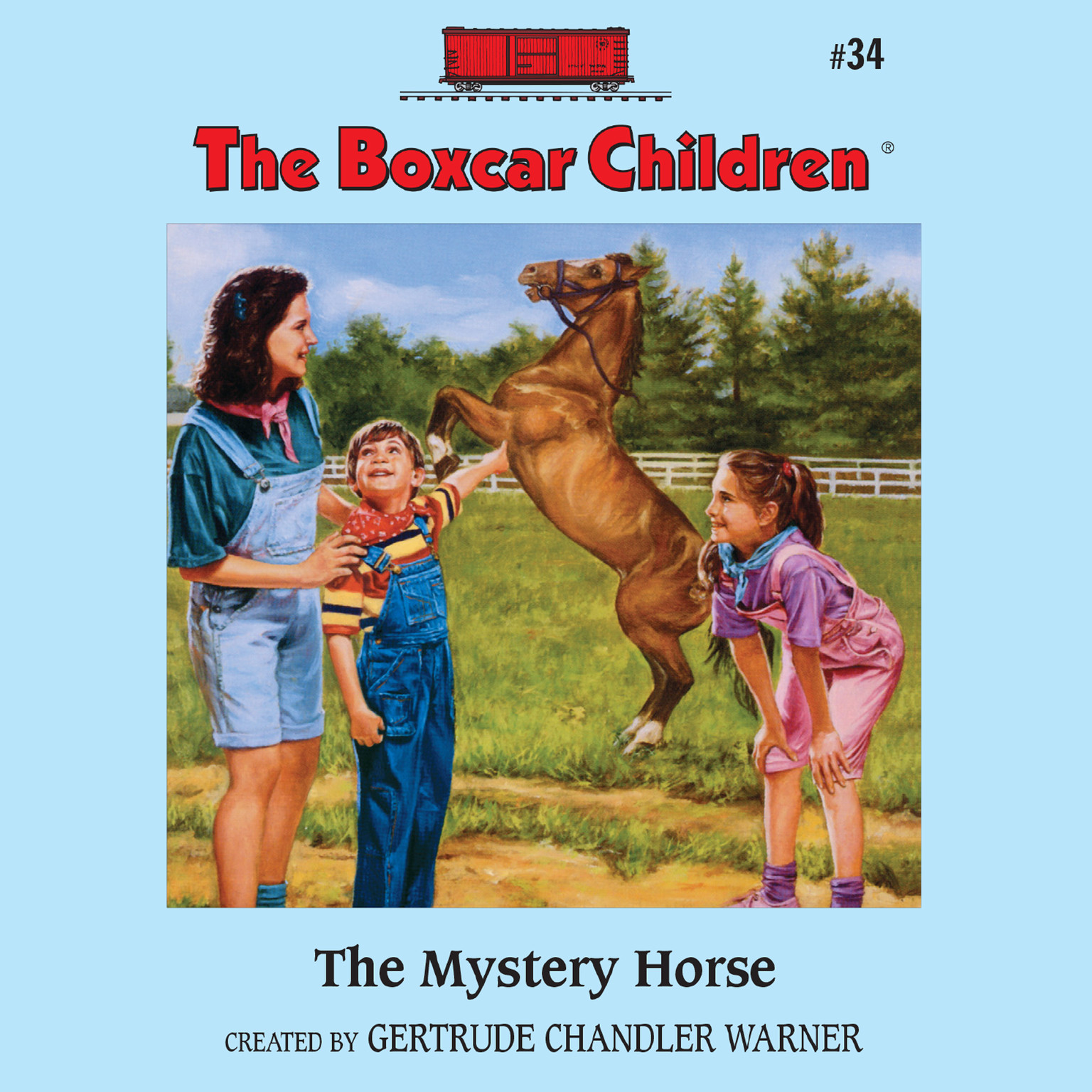 Printable The Mystery Horse Audiobook Cover Art