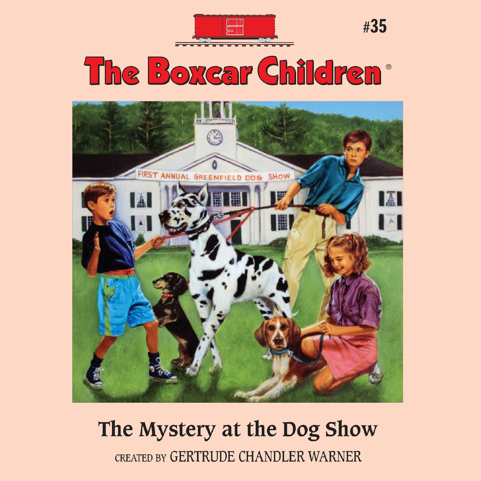 Printable The Mystery at the Dog Show Audiobook Cover Art