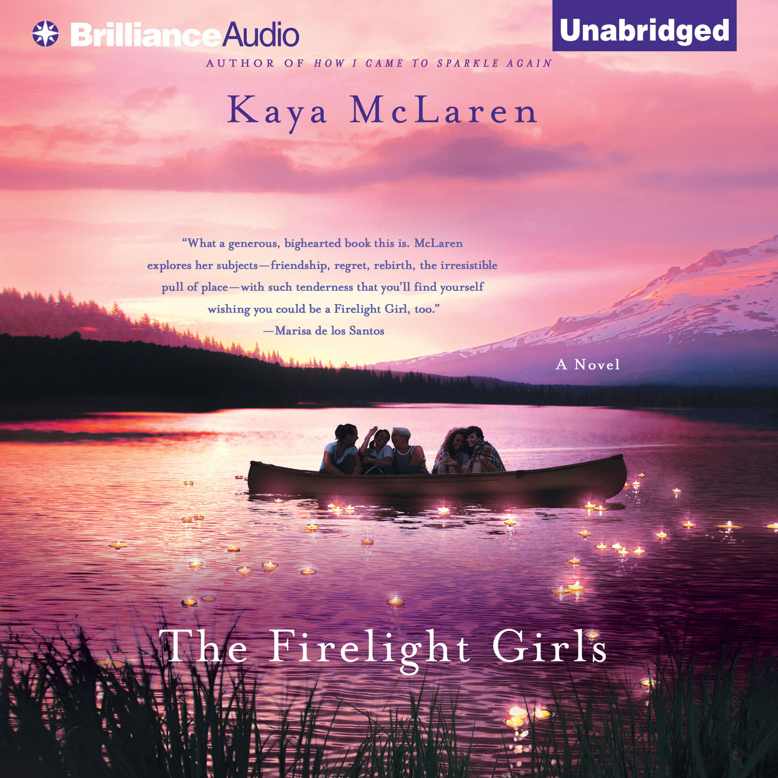 Printable The Firelight Girls: A Novel Audiobook Cover Art
