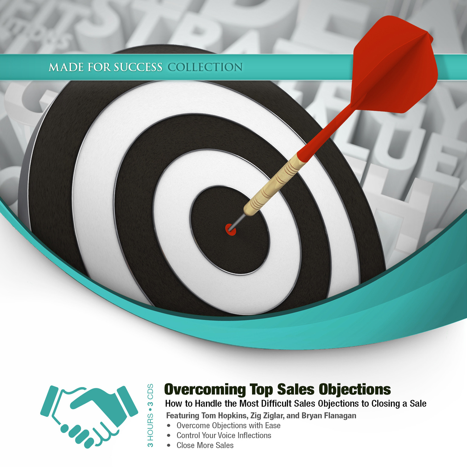 Printable Overcoming Top Sales Objections: How to  Handle the Most Difficult Sales Objections to Closing a Sale Audiobook Cover Art