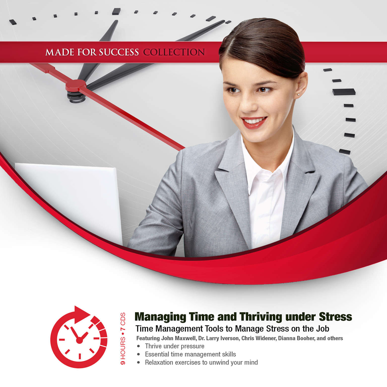 Printable Managing Time and Thriving under Stress Audiobook Cover Art