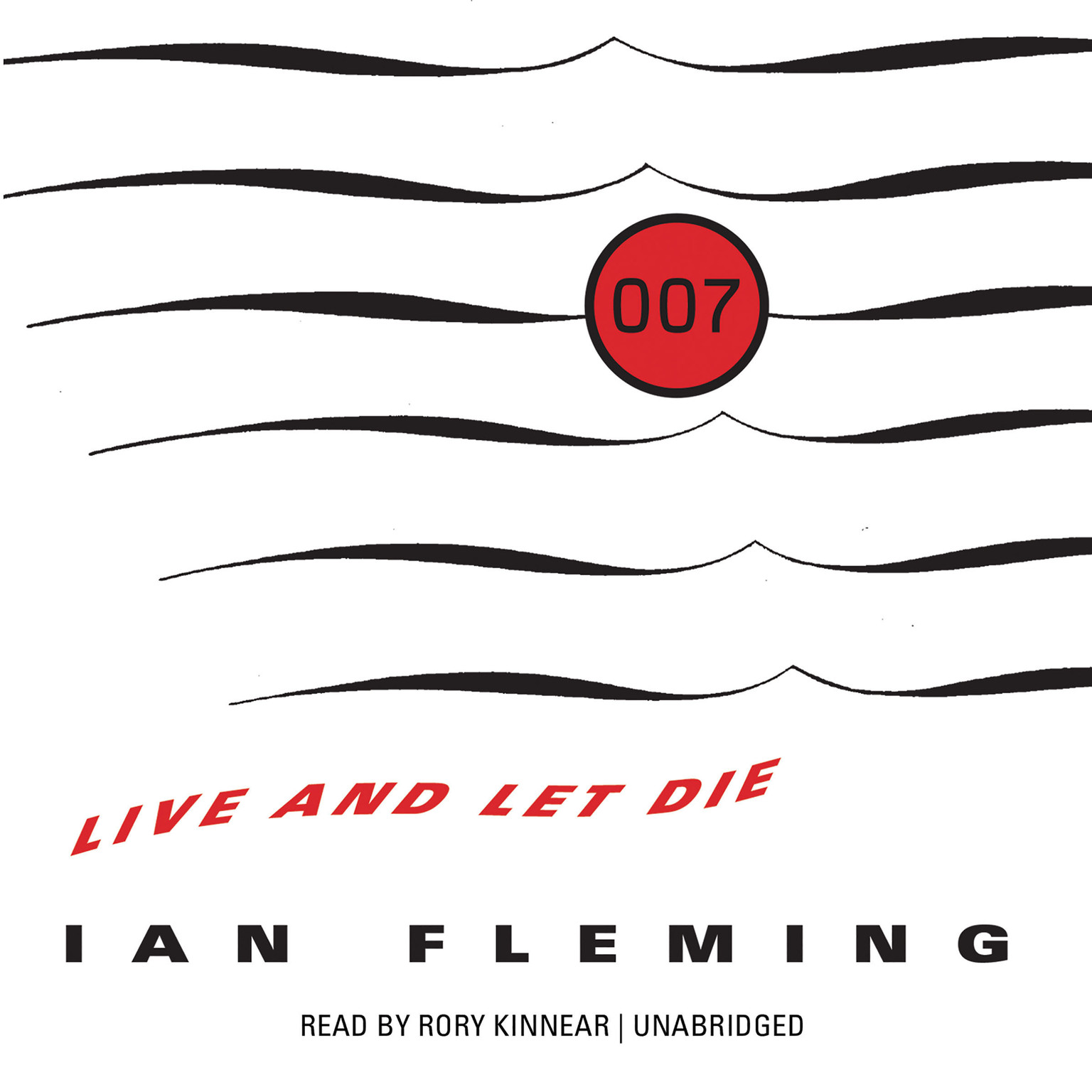 Printable Live and Let Die Audiobook Cover Art