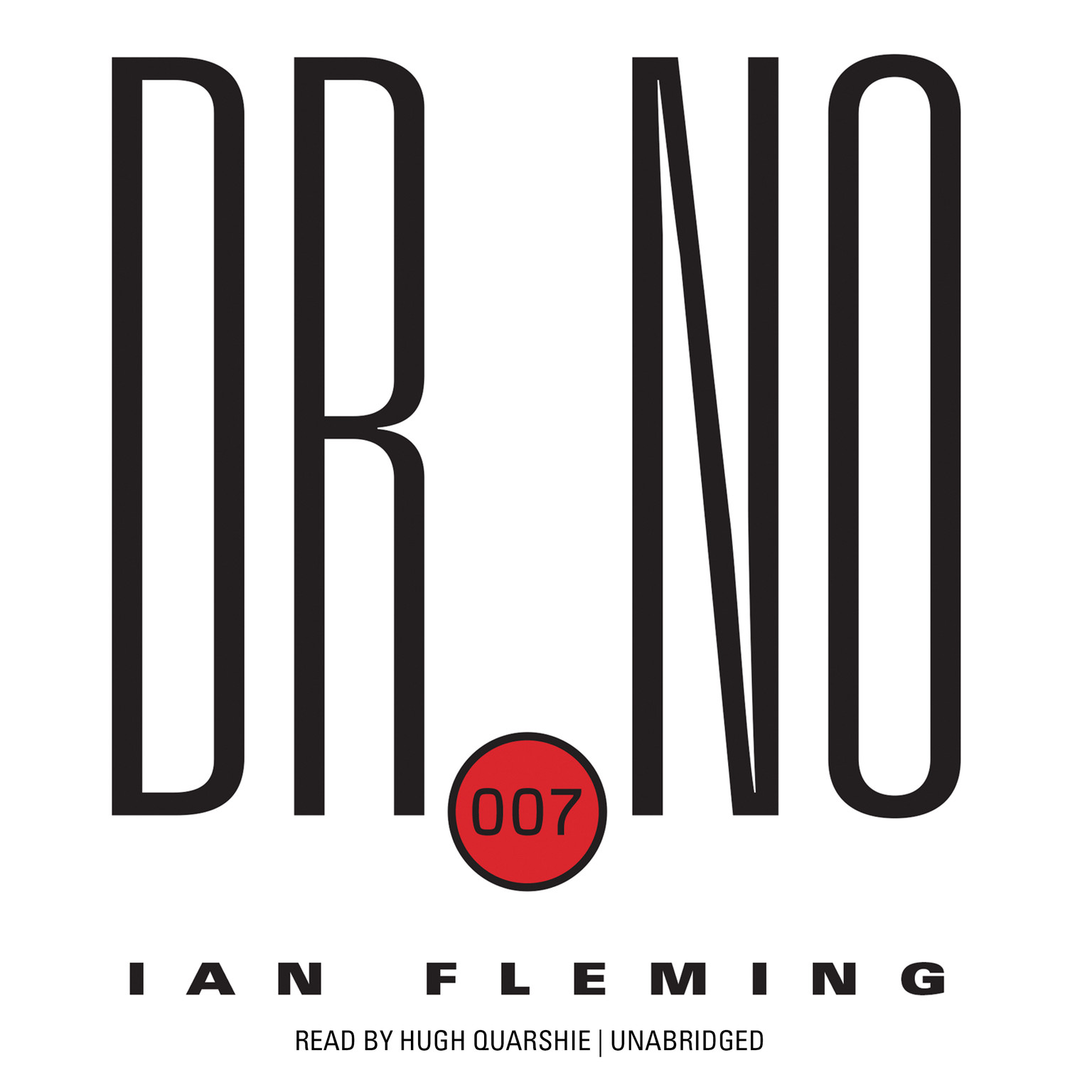 Printable Dr. No Audiobook Cover Art