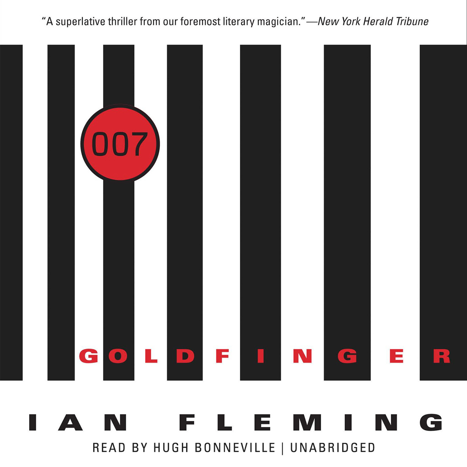 Printable Goldfinger  Audiobook Cover Art