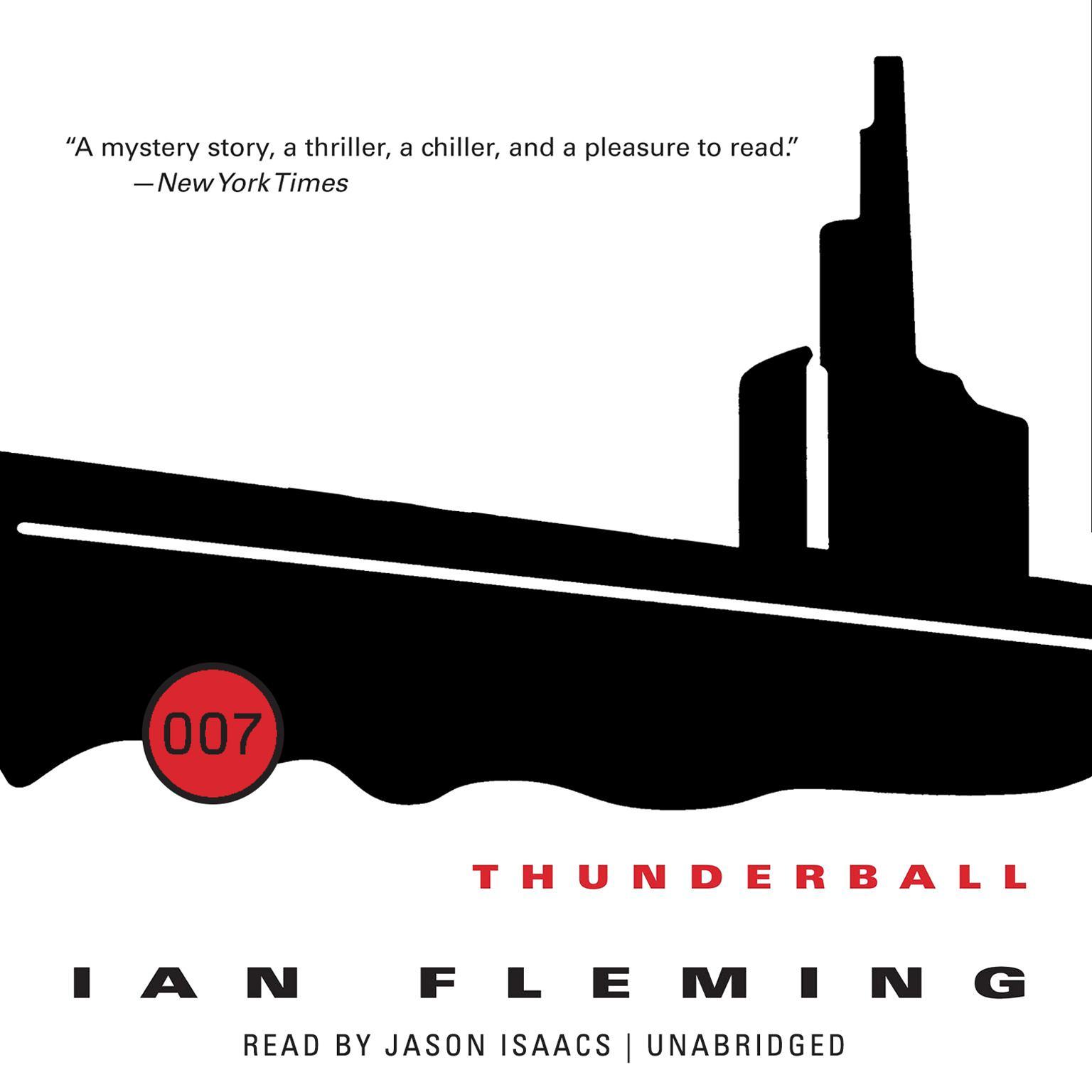 Printable Thunderball Audiobook Cover Art