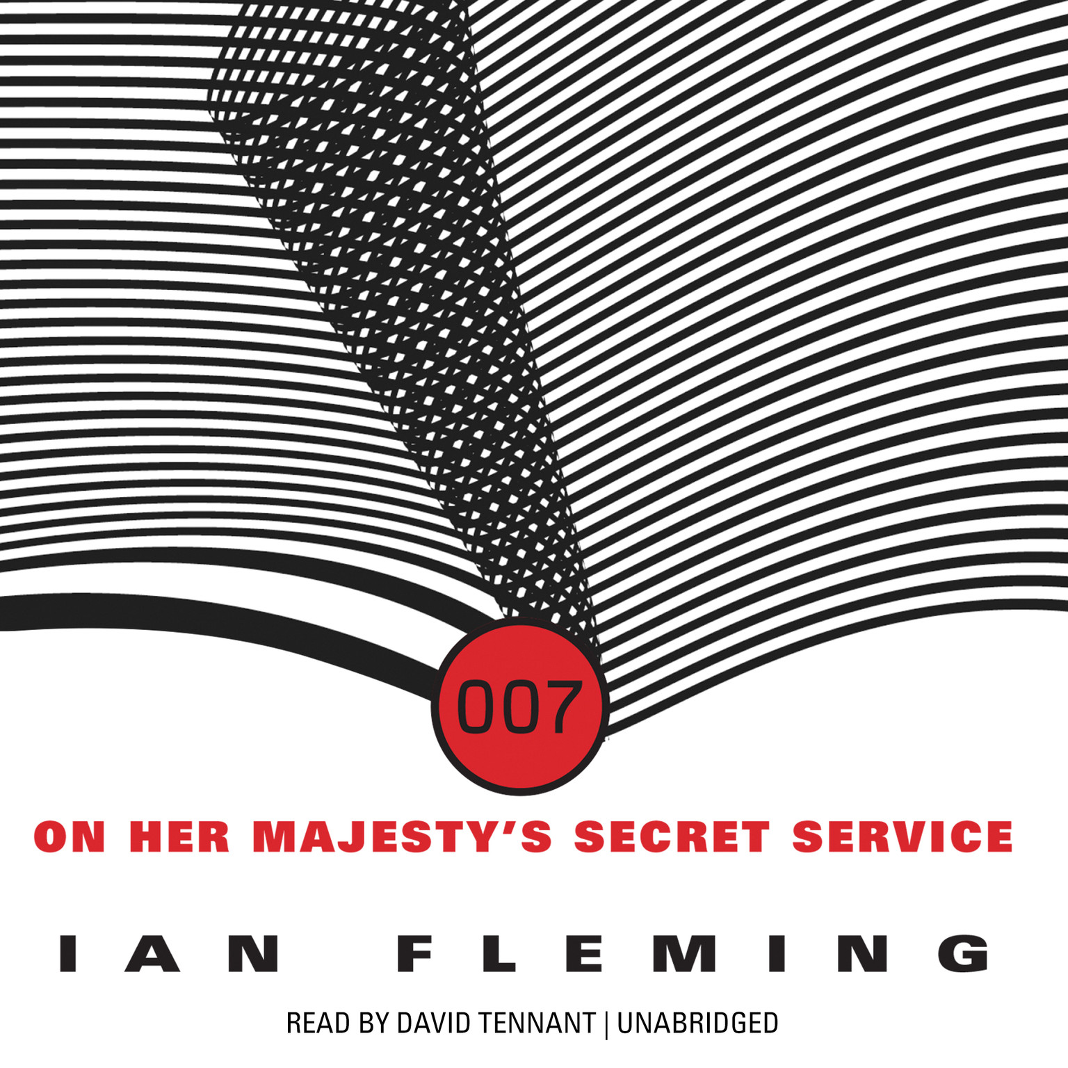 Printable On Her Majesty's Secret Service Audiobook Cover Art