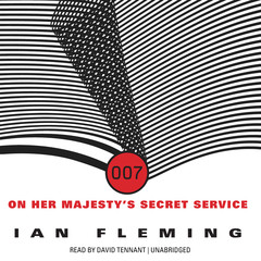 On Her Majesty's Secret Service Audiobook, by Ian Fleming