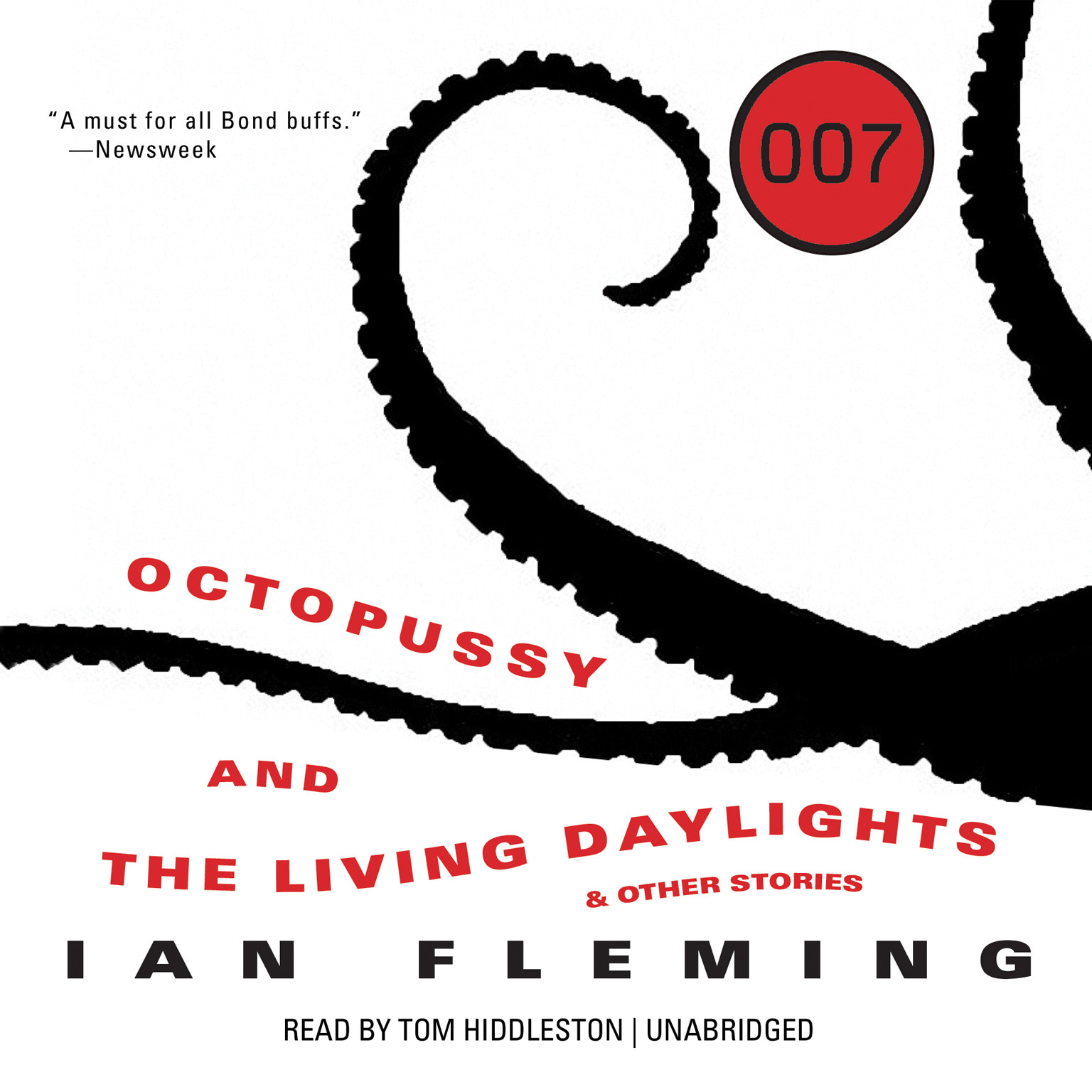 Printable Octopussy and The Living Daylights, and Other Stories Audiobook Cover Art