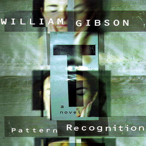 Printable Pattern Recognition Audiobook Cover Art