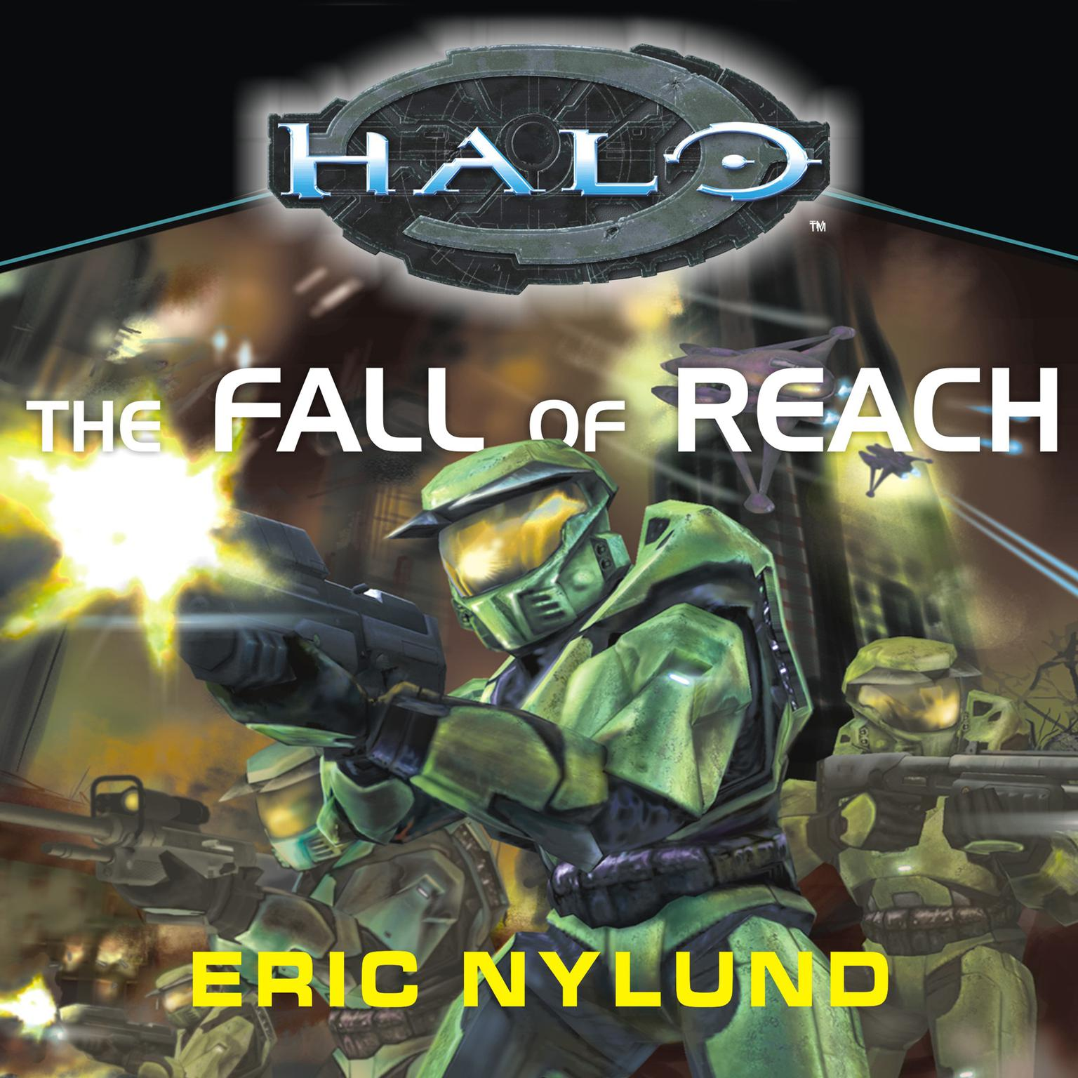 Printable Halo: The Fall of Reach Audiobook Cover Art