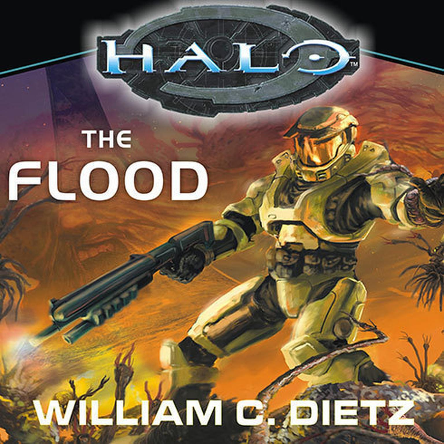 Printable HALO: The Flood Audiobook Cover Art