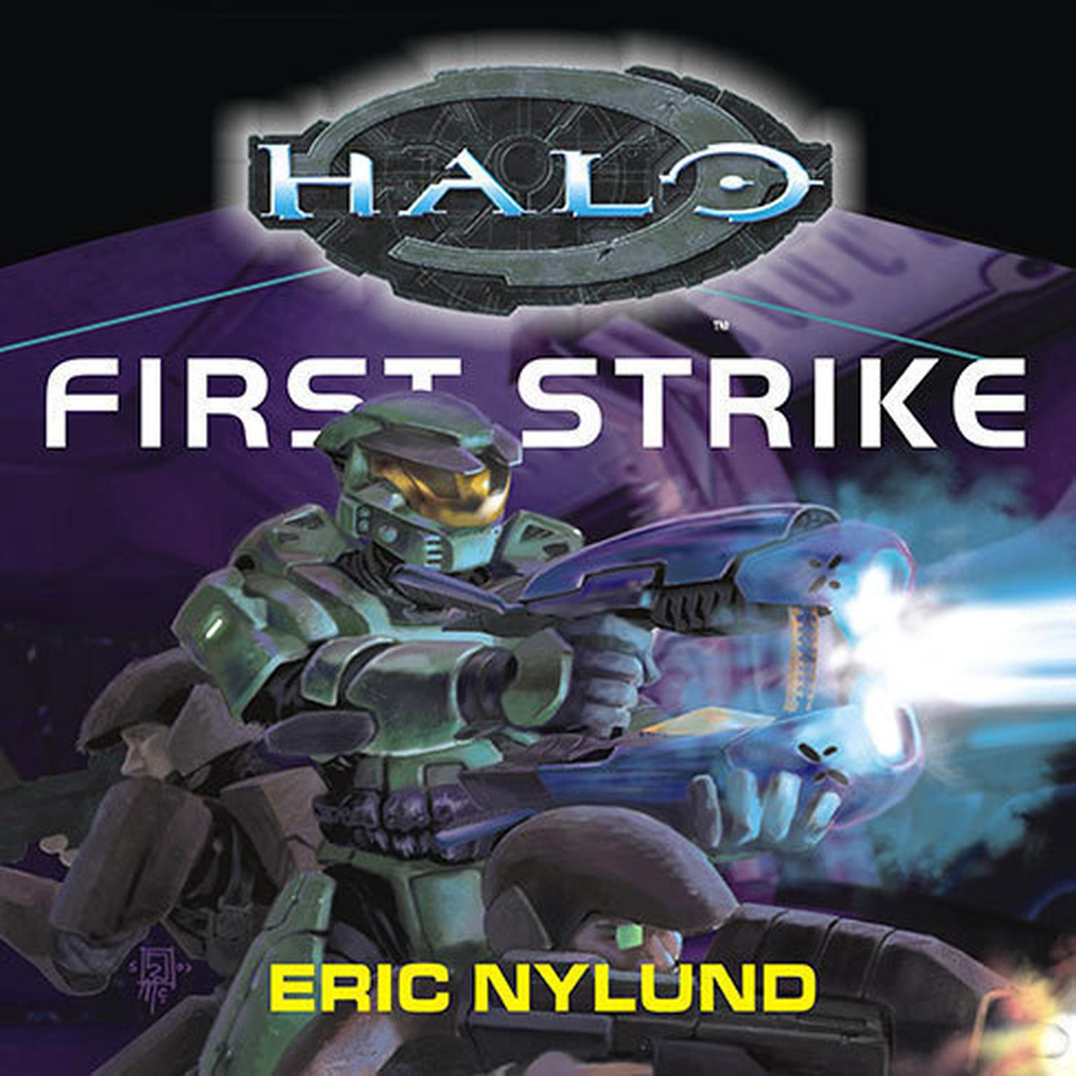 Printable Halo: First Strike Audiobook Cover Art