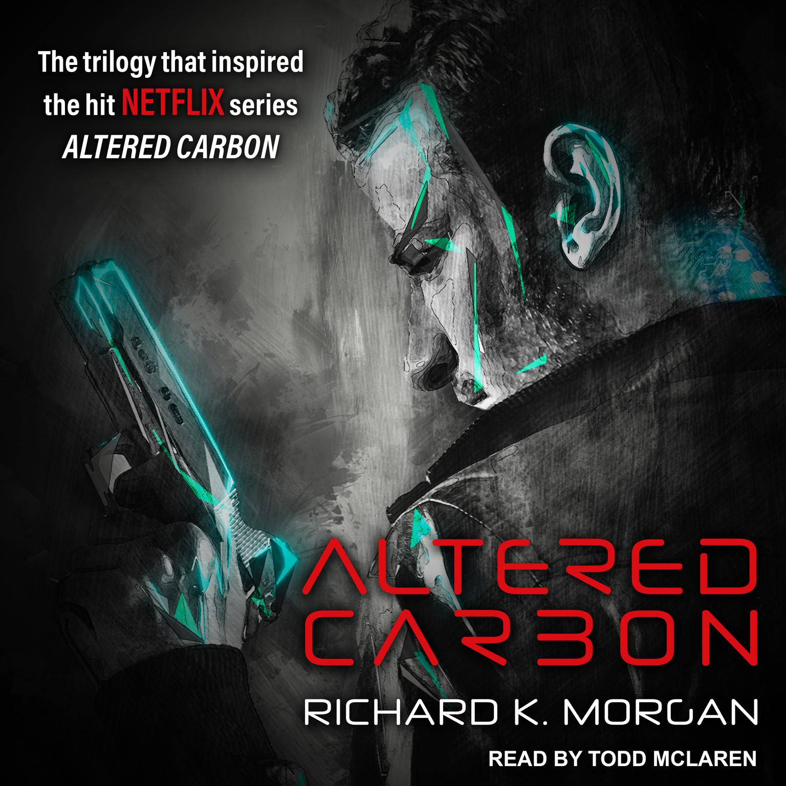 Printable Altered Carbon Audiobook Cover Art