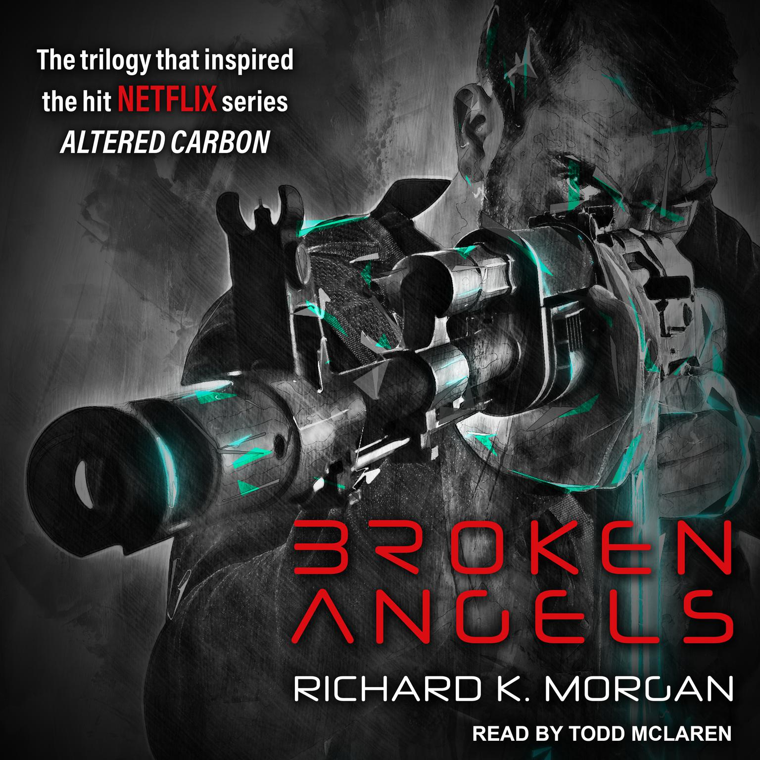 Printable Broken Angels Audiobook Cover Art