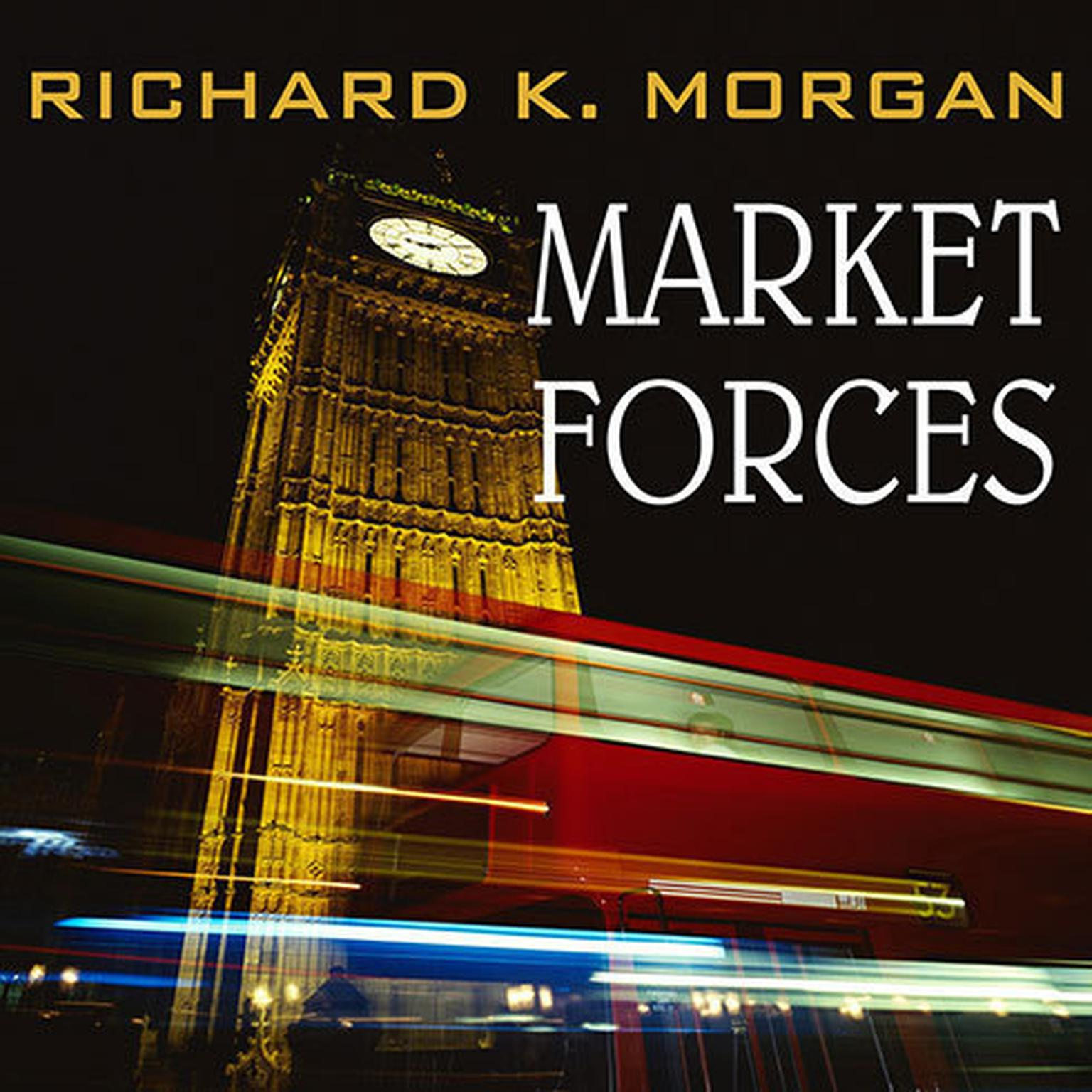 Printable Market Forces Audiobook Cover Art