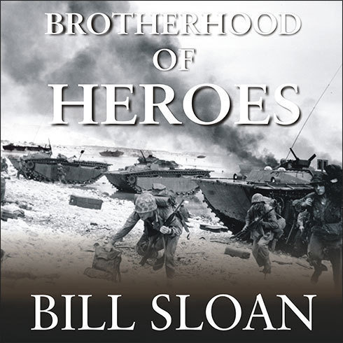 Printable Brotherhood of Heroes: The Marines at Peleliu, 1944—The Bloodiest Battle of the Pacific War Audiobook Cover Art