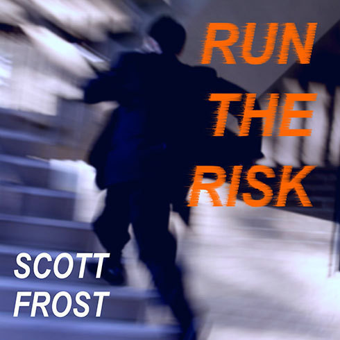 Printable Run the Risk Audiobook Cover Art