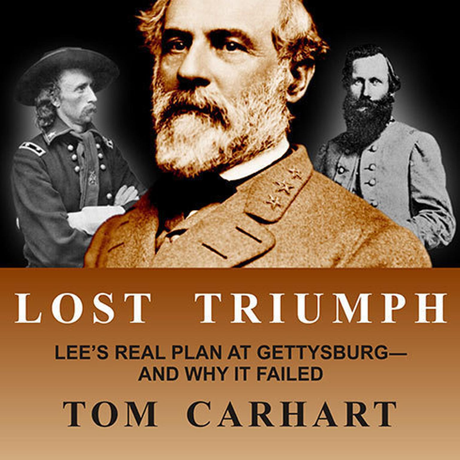 Printable Lost Triumph: Lee's Real Plan at Gettysburg—and Why it Failed Audiobook Cover Art