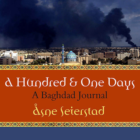 Printable A Hundred and One Days: A Baghdad Journal Audiobook Cover Art