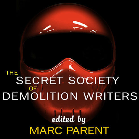 Printable The Secret Society of Demolition Writers Audiobook Cover Art