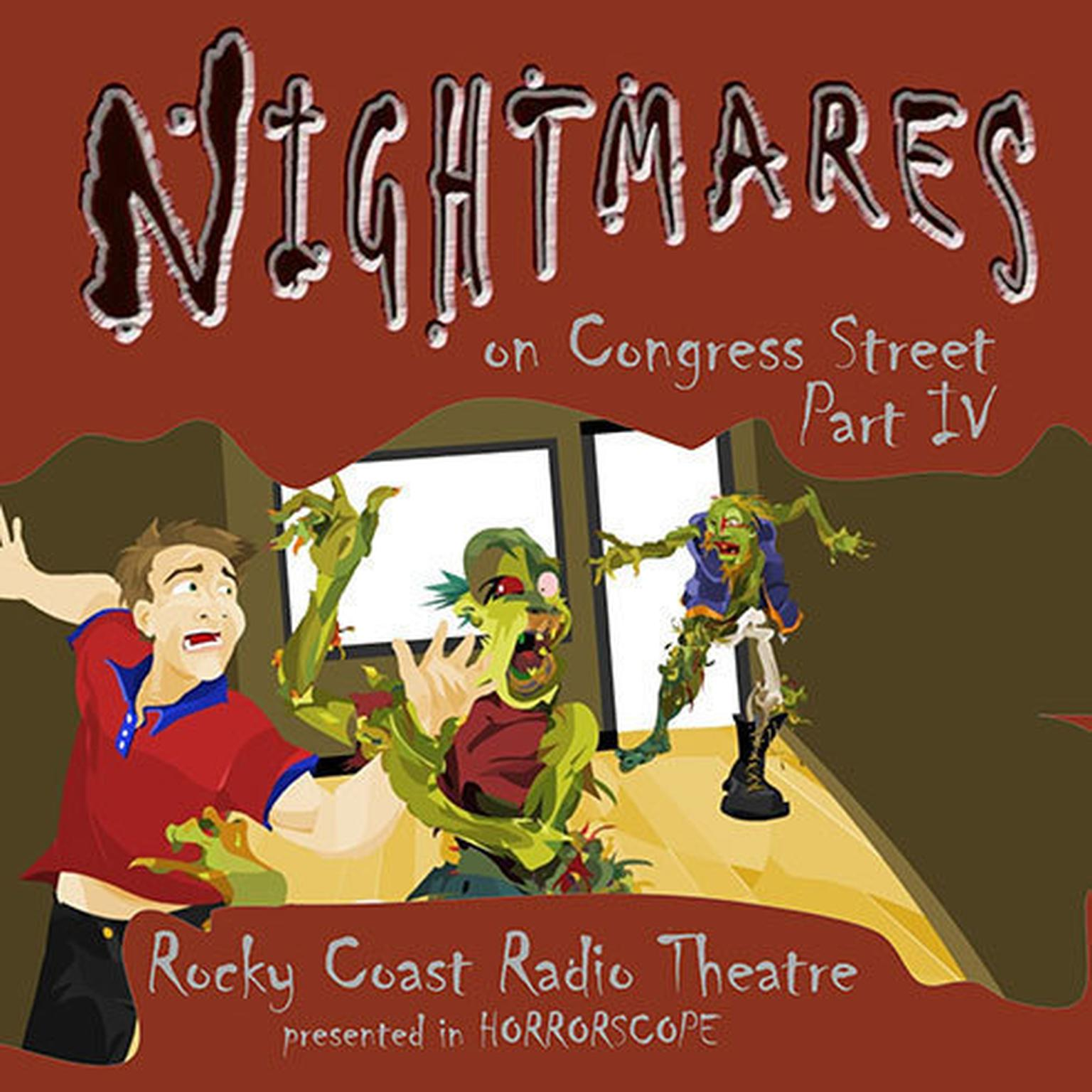 Printable Nightmares on Congress Street, Part IV Audiobook Cover Art