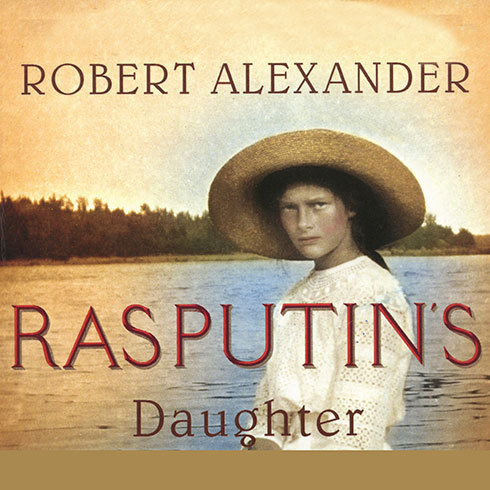 Printable Rasputin's Daughter Audiobook Cover Art