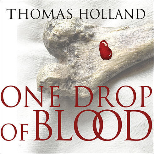 Printable One Drop of Blood Audiobook Cover Art