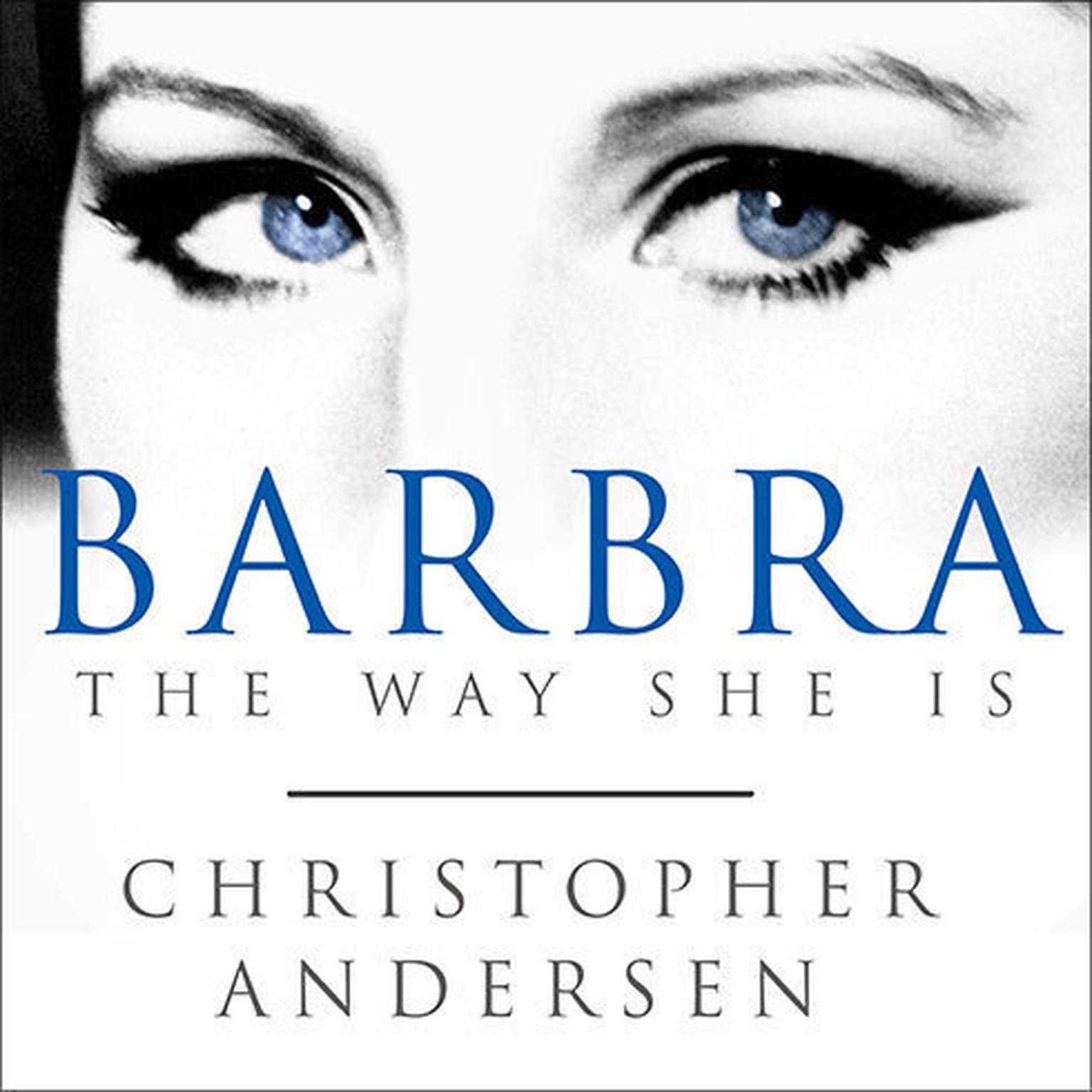 Printable Barbra: The Way She Is Audiobook Cover Art