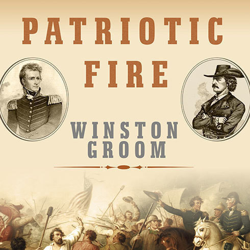 Printable Patriotic Fire: Andrew Jackson and Jean Laffite at the Battle of New Orleans Audiobook Cover Art