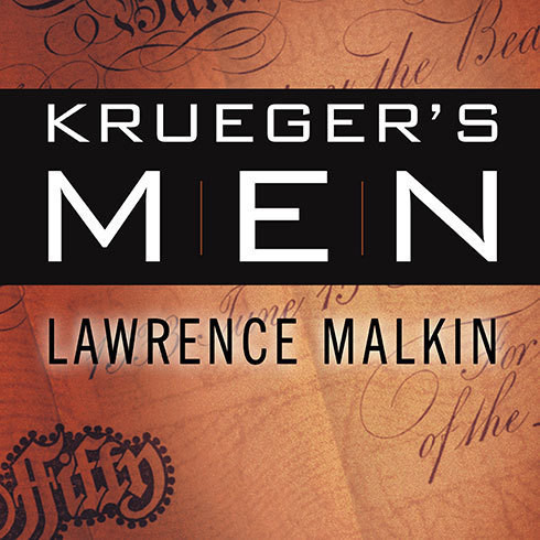 Printable Krueger's Men: The Secret Nazi Counterfeit Plot and the Prisoners of Block 19 Audiobook Cover Art