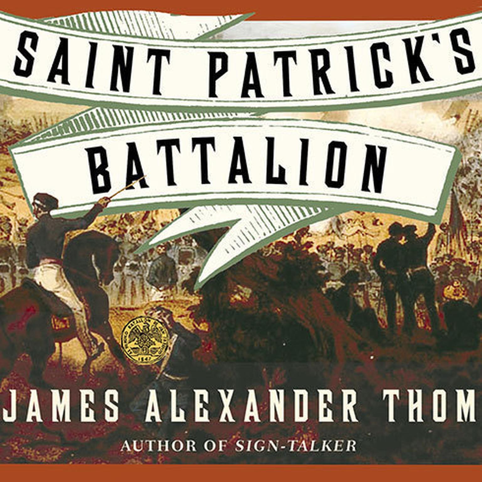 Printable Saint Patrick's Battalion: A Novel Audiobook Cover Art