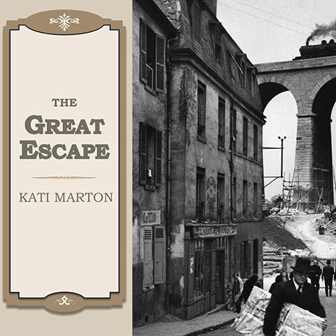 Printable The Great Escape: Nine Jews Who Fled Hitler and Changed the World Audiobook Cover Art