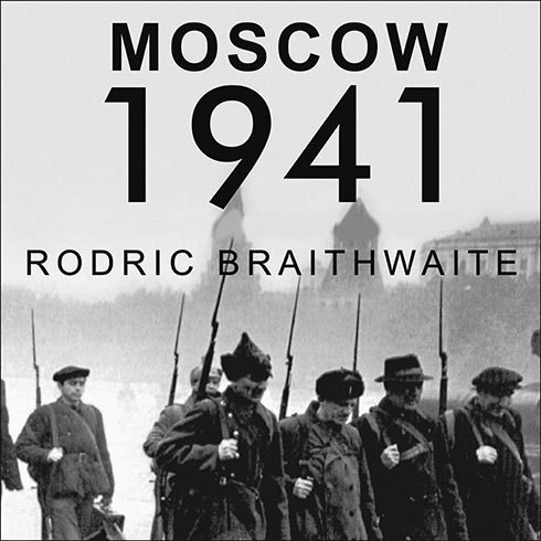 Printable Moscow 1941: A City and Its People at War Audiobook Cover Art