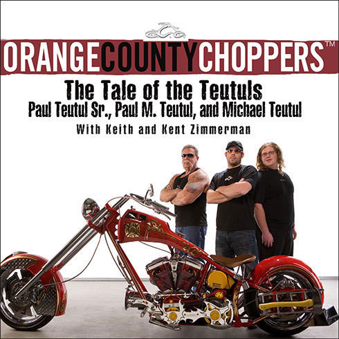 Printable Orange County Choppers: The Tale of the Teutuls Audiobook Cover Art