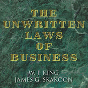 The Unwritten Laws of Business Audiobook, by W. J. King