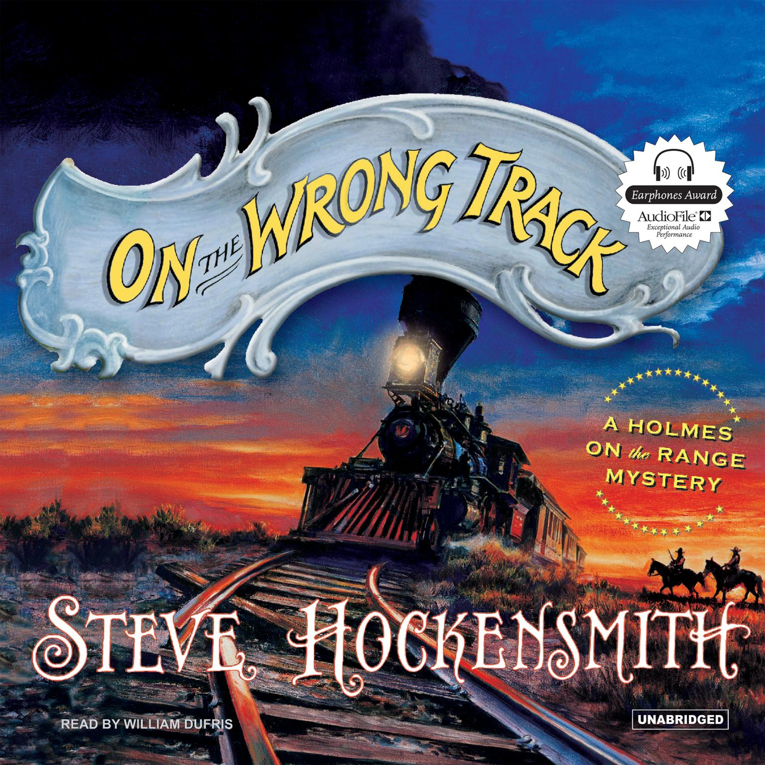 Printable On the Wrong Track Audiobook Cover Art