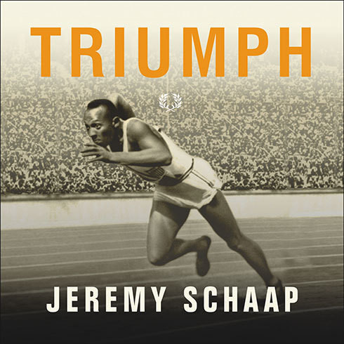 Printable Triumph: The Untold Story of Jesse Owens and Hitler's Olympics Audiobook Cover Art