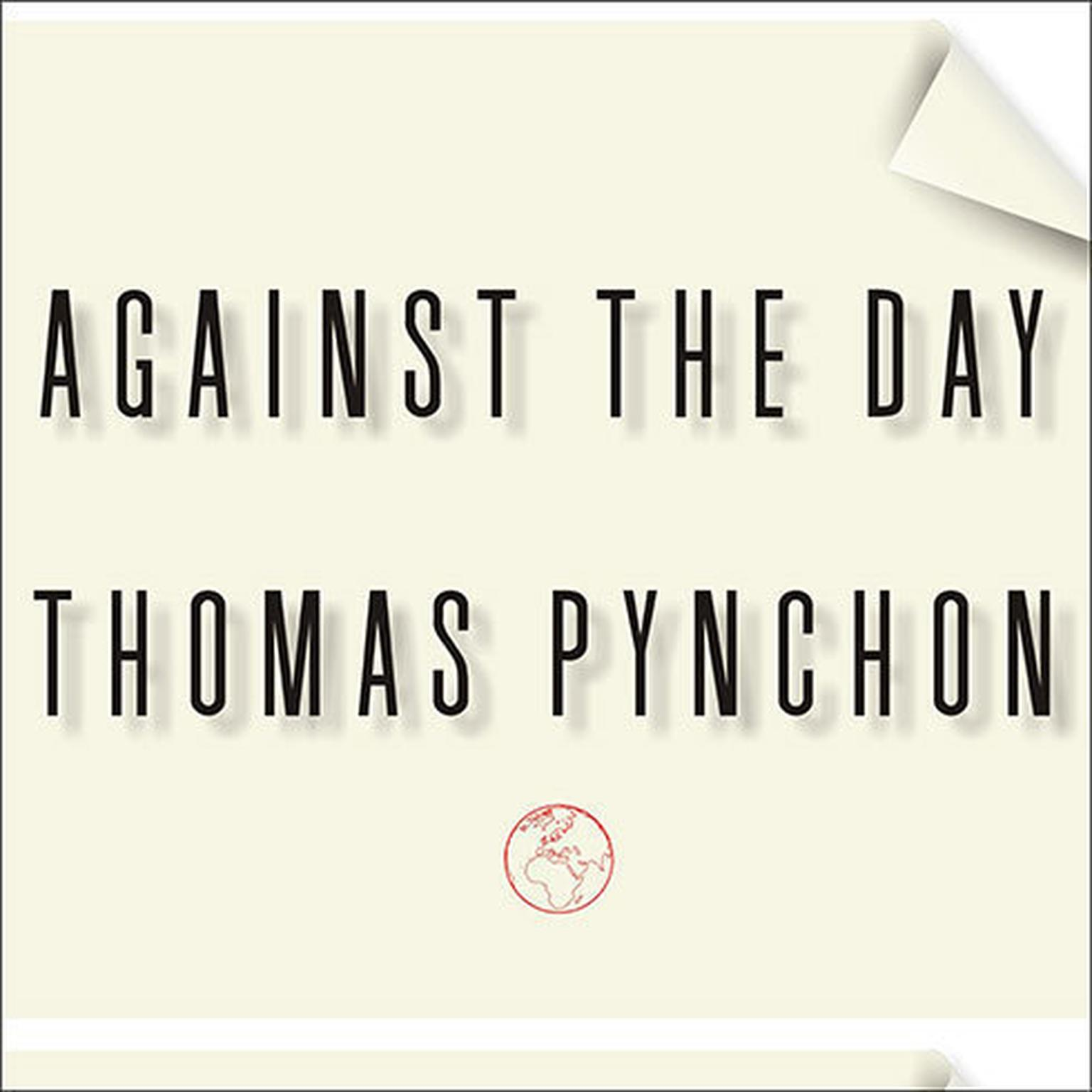Printable Against the Day Audiobook Cover Art