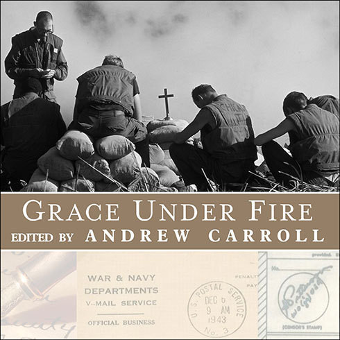 Printable Grace under Fire: Letters of Faith in Times of War Audiobook Cover Art
