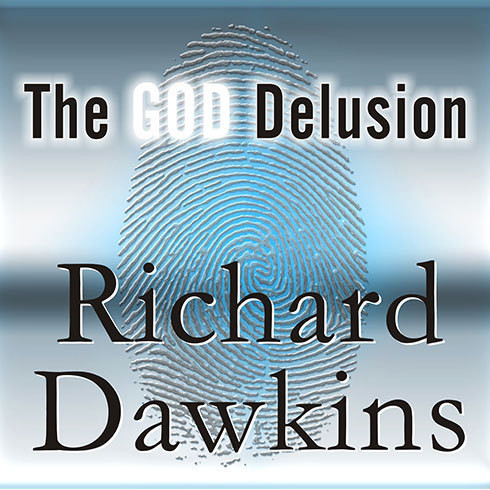 Printable The God Delusion Audiobook Cover Art
