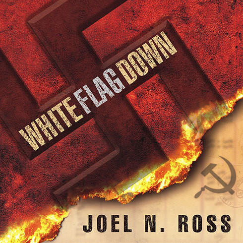 Printable White Flag Down Audiobook Cover Art
