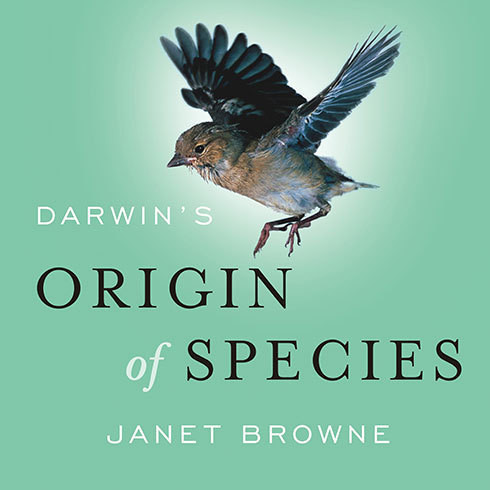 Printable Darwin's <i>Origin of Species</i>: A Biography Audiobook Cover Art