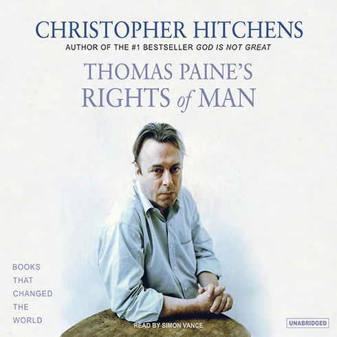 Printable Thomas Paine's Rights of Man: A Biography Audiobook Cover Art