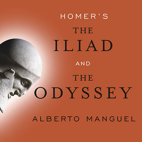 Printable Homer's The Iliad and The Odyssey: A Biography Audiobook Cover Art