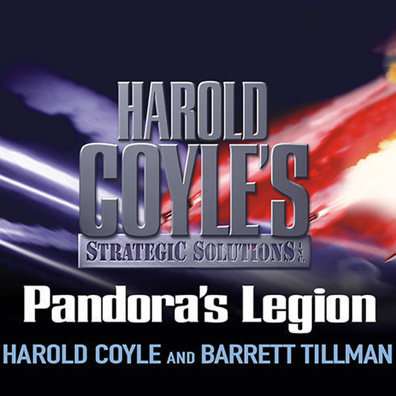 Printable Pandora's Legion: Harold Coyle's Strategic Solutions, Inc. Audiobook Cover Art