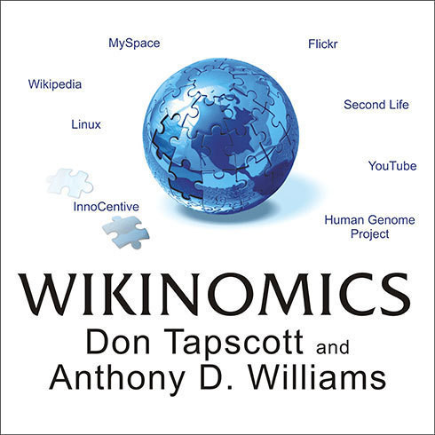 Printable Wikinomics: How Mass Collaboration Changes Everything Audiobook Cover Art